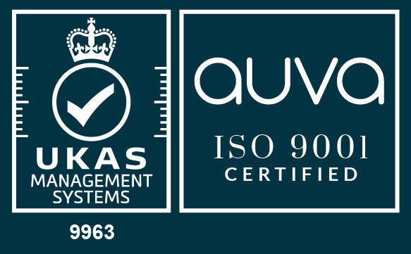 auva / UKAS certified logos